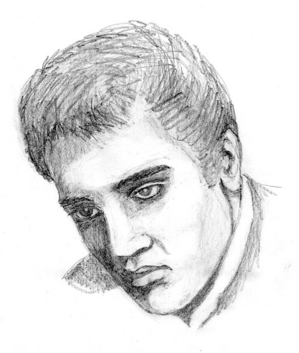 Elvis Presley by JimmyE